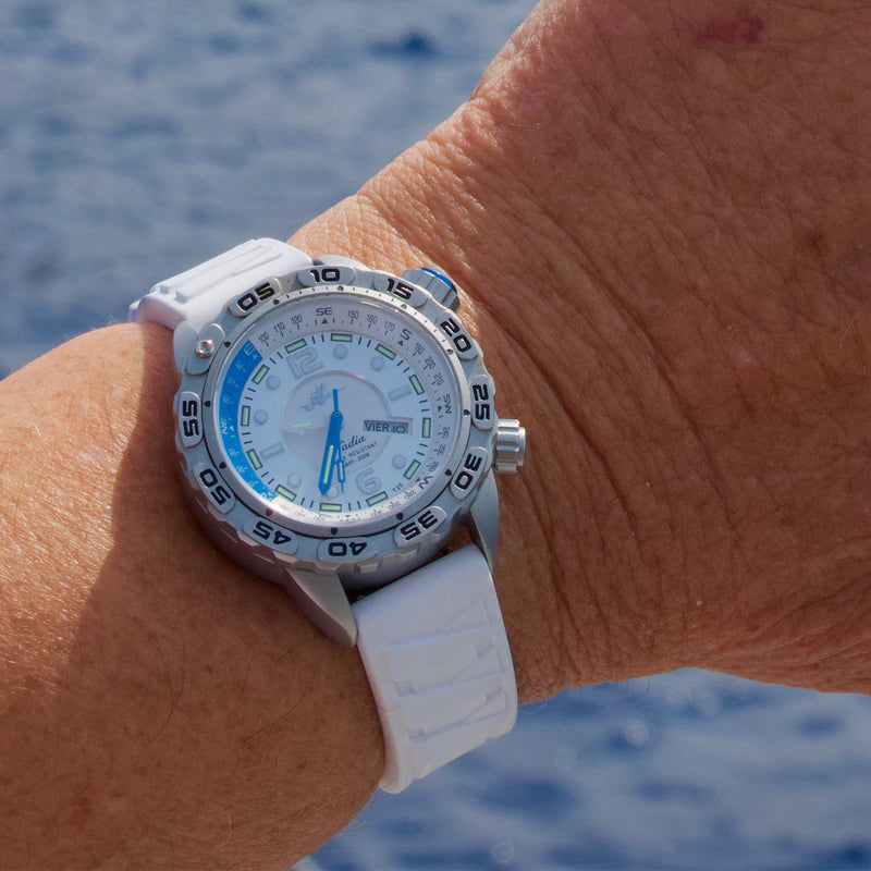 Nadia Dive Watch - The Abingdon Co., aviation, dive, tactical watches for women