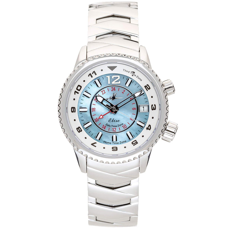 Elise Travel Watch - The Abingdon Co., aviation, dive, tactical watches for women