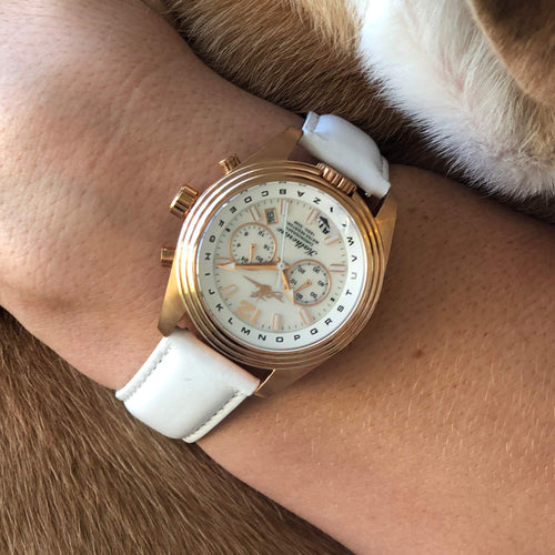 Katherine Pilot Watch - The Abingdon Co., aviation, dive, tactical watches for women