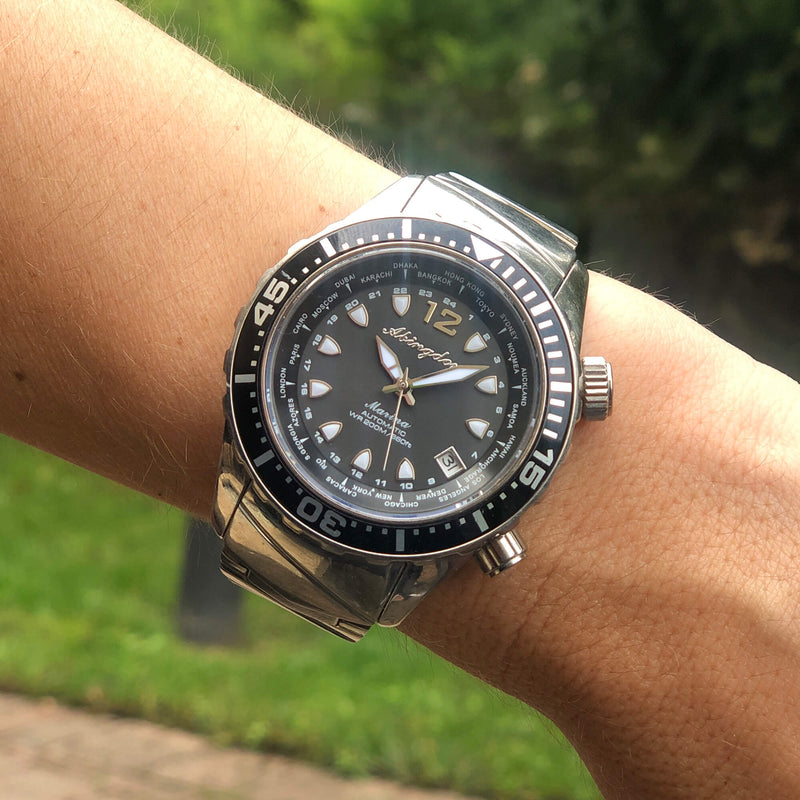 Marina Dive Watch - The Abingdon Co., aviation, dive, tactical watches for women