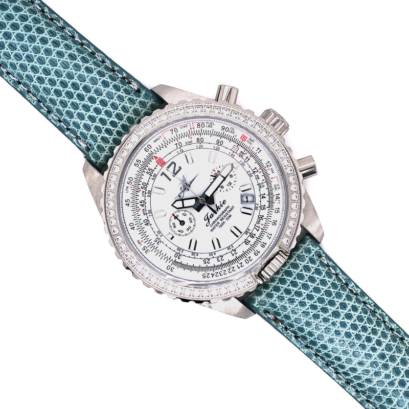 Band - 20mm Lizard - The Abingdon Co., aviation, dive, tactical watches for women
