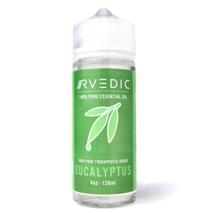 RVEDIC 100% Pure Eucalyptus Essential Oil - 4oz (120mL)
