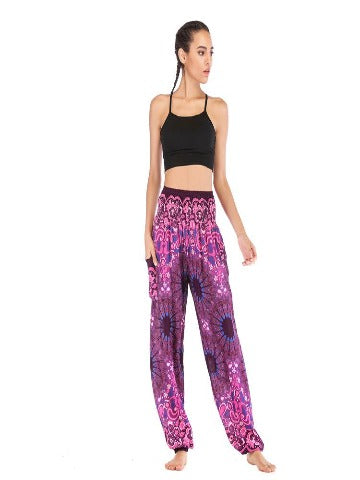Elephant pants - Hattie Purple - elephant pantz