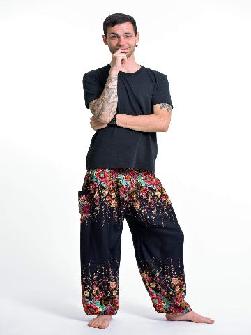 Harem pants men- Navy blue - elephant pantz