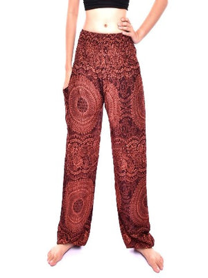 Elephant pants loungers- brown - elephant pantz