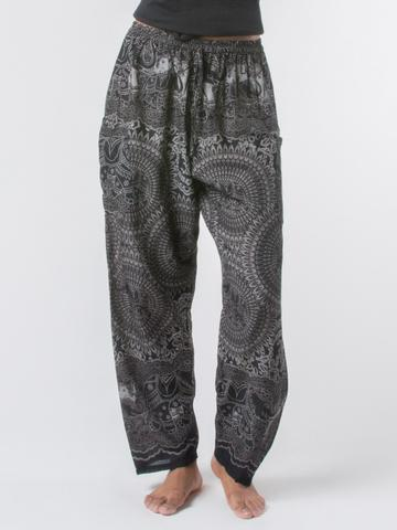 Elephant pants loungers- women black - elephant pantz