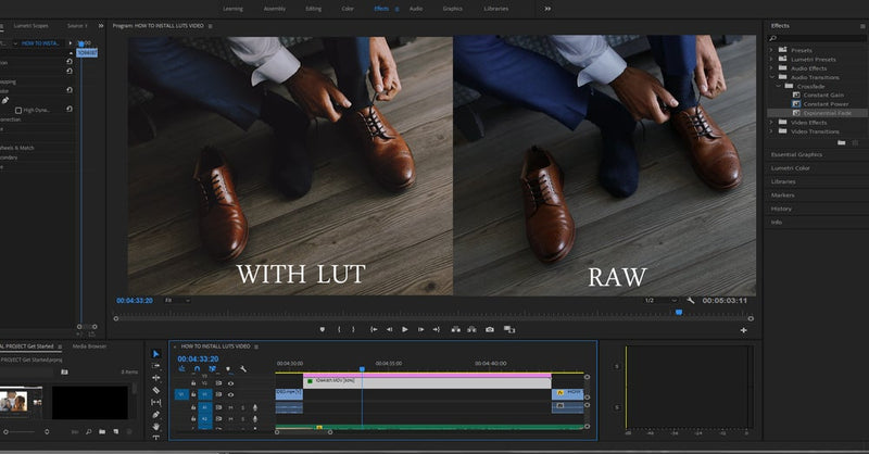 Feel Me + Inspire LUTs for Adobe Premiere Pro