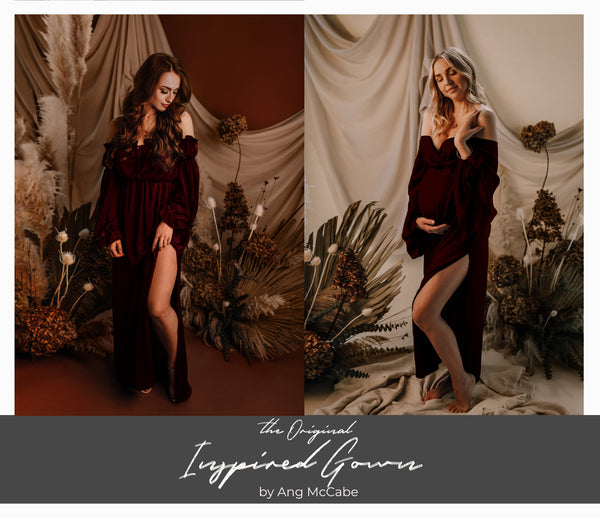 [Pre-Order] The Original Inspired Gown (Deep Merlot)