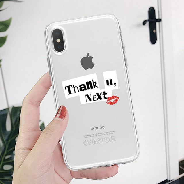 Ariana Grande Transparent Cases