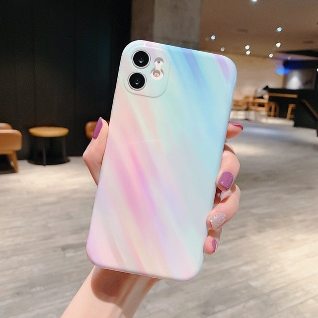 Cotton Candy Marble Cases