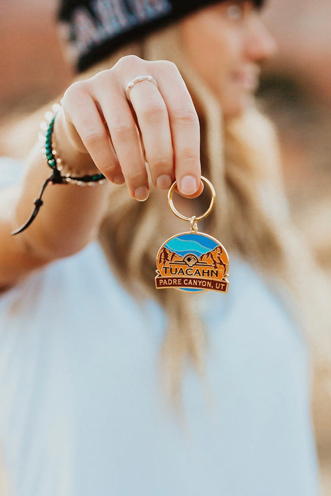 Padre Canyon Key Chain