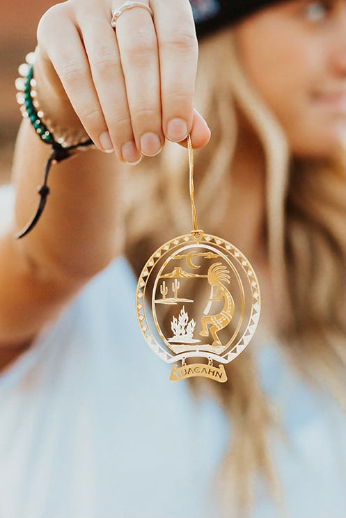 Desert Dancing Christmas Ornament