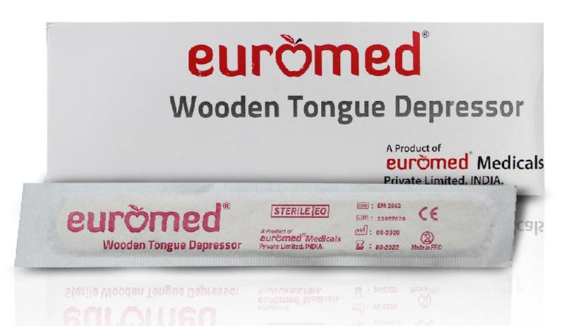 Wooden Tongue Depressor - Applemed Trading L.L.C