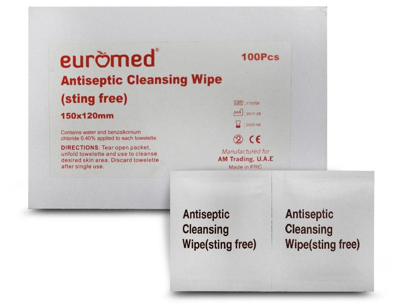 Antiseptic cleaning Wipes - Applemed Trading L.L.C