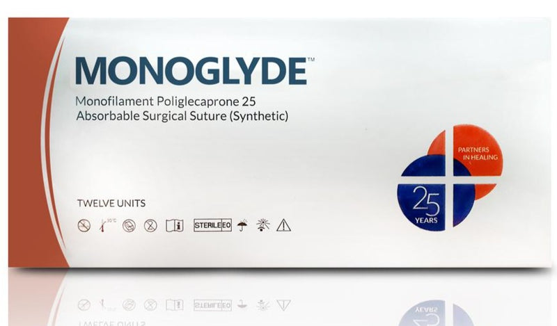 Synthetic Absorbable Monofilament Suture – Poliglecaprone 25