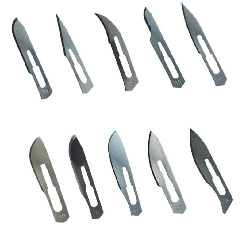 a group of different types of scissors