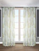 LITEOUT - DAPHNE PRINTED WATER COLOR FLORAL SHEER CURTAIN PANEL (PAIR)