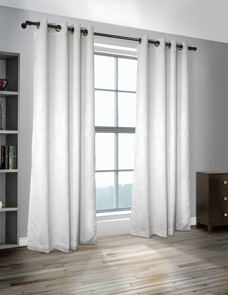 LITEOUT - MUSKOKA THERMAL WOVEN ROOM DARKENING CURTAIN PANEL (PAIR)