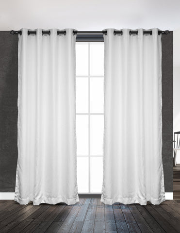 LITEOUT - SUBLIME SUEDE LINED CURTAIN PANEL (PAIR)