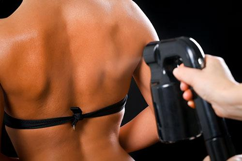Spray Tanning - Our Treatments - ABC Clinic abcclinc
