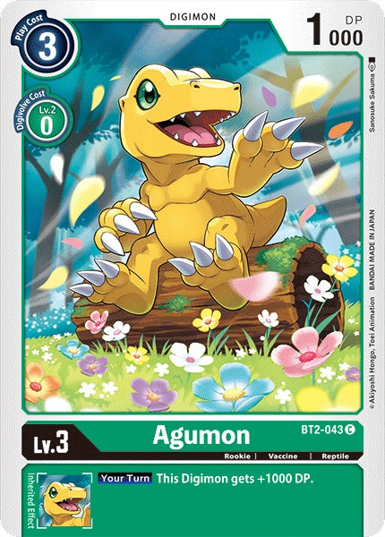 Agumon (Green)