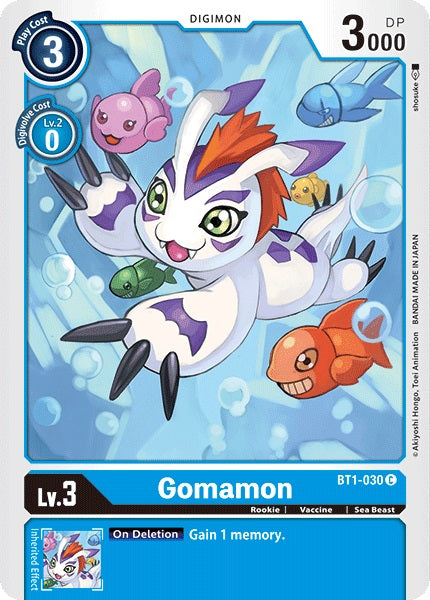Gomamon (Blue)