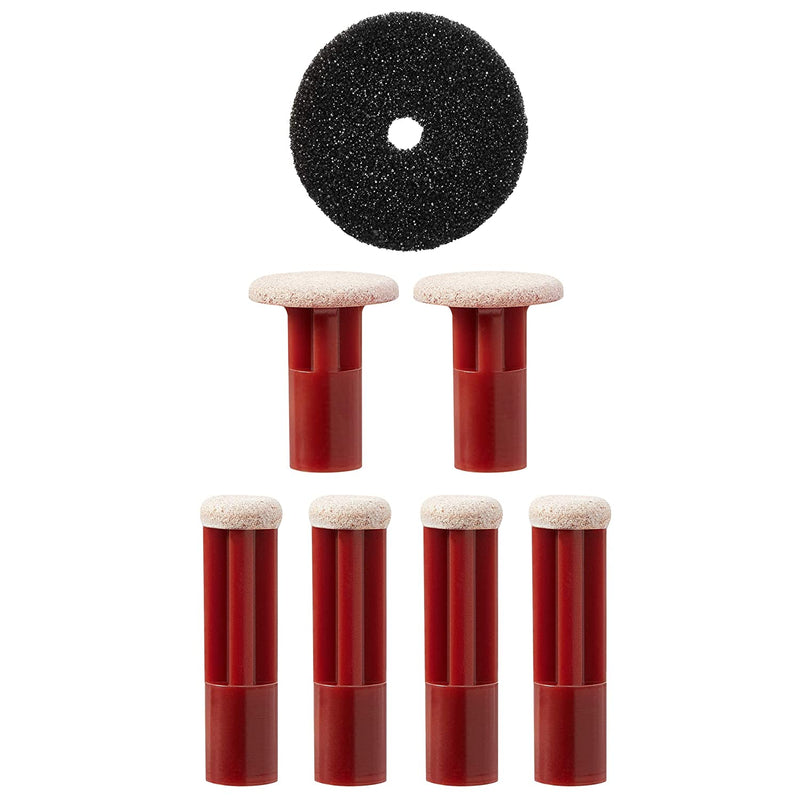 Red Coarse Replacement Discs - PMD