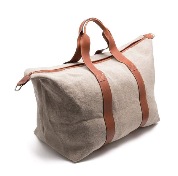 Travel Bag in Linen