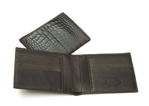 Horizontal Crocodile Wallet