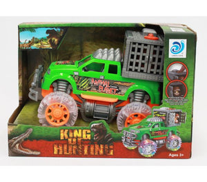Light & Sound Hunting Dinosaur Truck