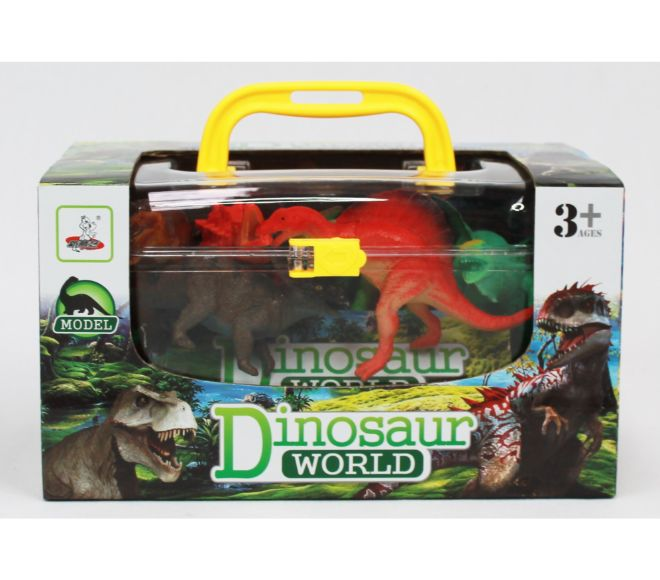 Small Carry Case of Dinosaurs
