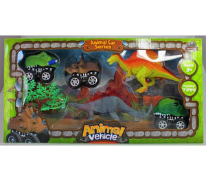 Dinosaur Vehicle Play Set
