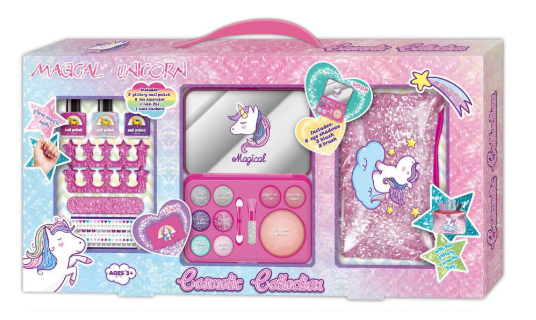 Ultimate Unicorn Makeup Set with Purse