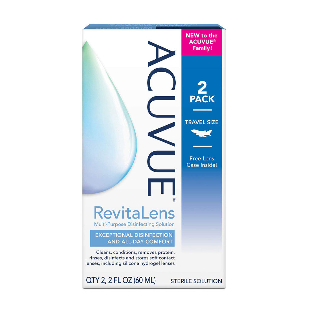 Complete RevitaLens Contact Lens Solution (2x60ml)