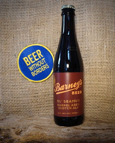 Barneys Ol' Seamus Barrel Aged Scotch Ale, Scotland (10%) 330ML