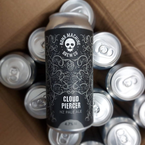 Bone Machine Cloud Piercer New Zealand Pale Ale, England (4.7%) 440ml