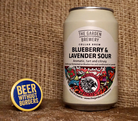 The Garden Brewery Blueberry & Lavender Sour, Croatia (5.2%) 330ML