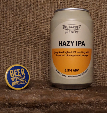 The Garden Brewery Hazy IPA, Croatia (6.5%) 330ML