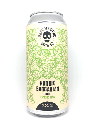 Bone Machine Nordic Barbarian Juice Kveik IPA, England (5.0%) 440ml