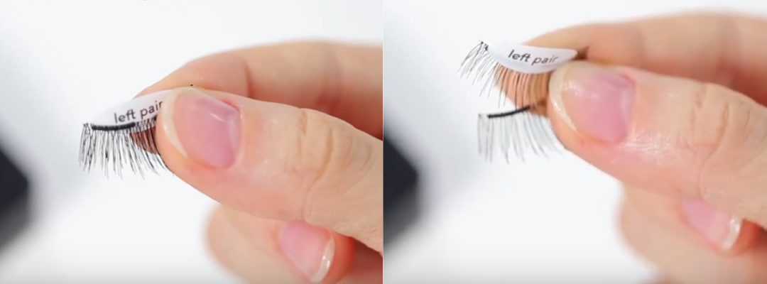 Tip 1: Slide to separate the lashes