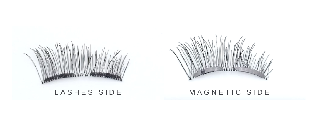 Tip 2: Identify two different side of the lashes