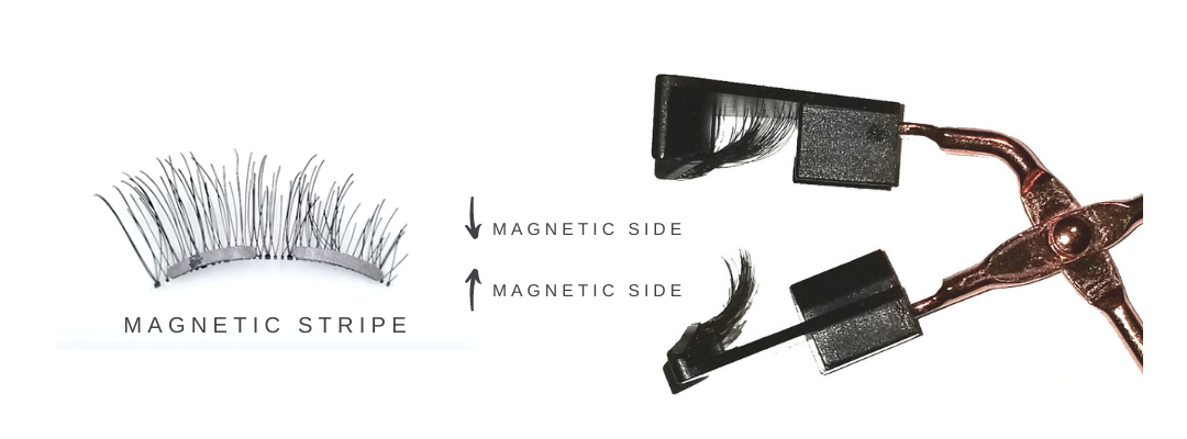 Tip 3: Make sure the magnetic side facing to each other.