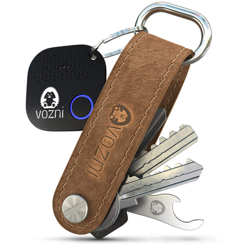 Key Organizer with Tracker Leather - Best Deals
