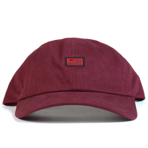 TMC Flag Dad Hat - Burgundy