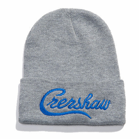 Crenshaw Beanie - Ath Heather/Royal - Image 1