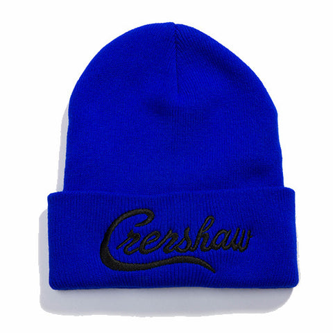 Crenshaw Beanie - Royal/Black - Image 1