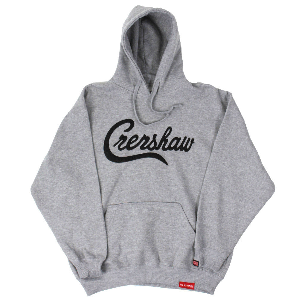 Crenshaw Hoodie - Ath Heather/Black - Image 1