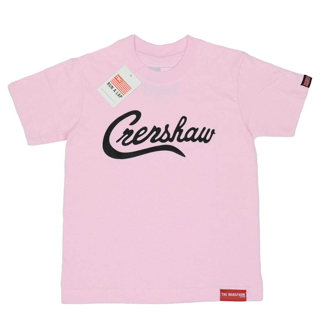 Crenshaw Kid's Shirts - Pink/Black