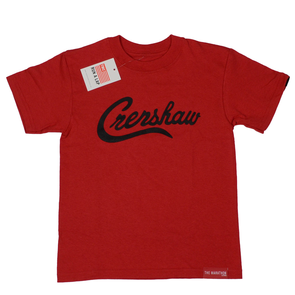 Crenshaw Kid's T-Shirt - Red/Black