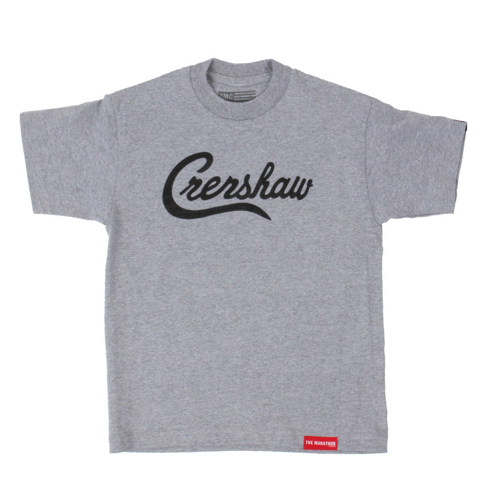 Crenshaw Kid's T-Shirt - Ath Heather/Black - Image 1